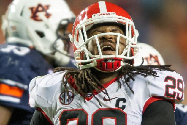 Jarvis Jones Named First-Team Walter Camp All-American