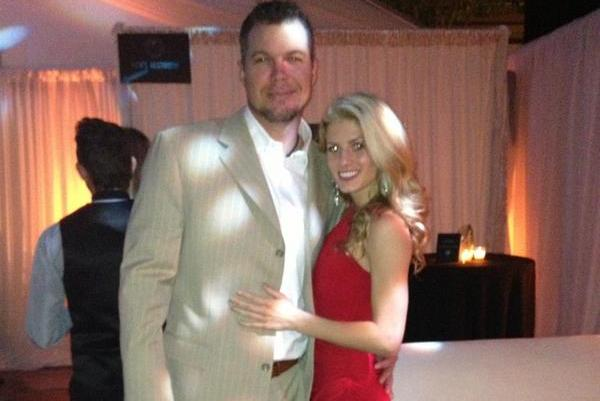 Chipper Jones Heads into Retirement on Arm of Playboy Model Taylor Higgins