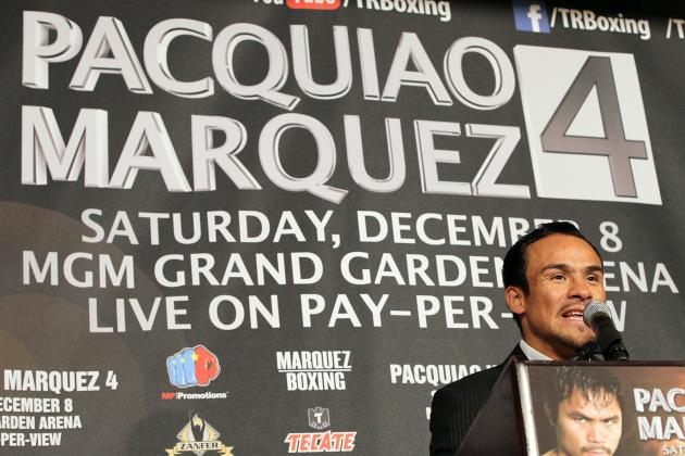 Pacquiao vs Marquez 4: Updated Money Odds for Vegas Event