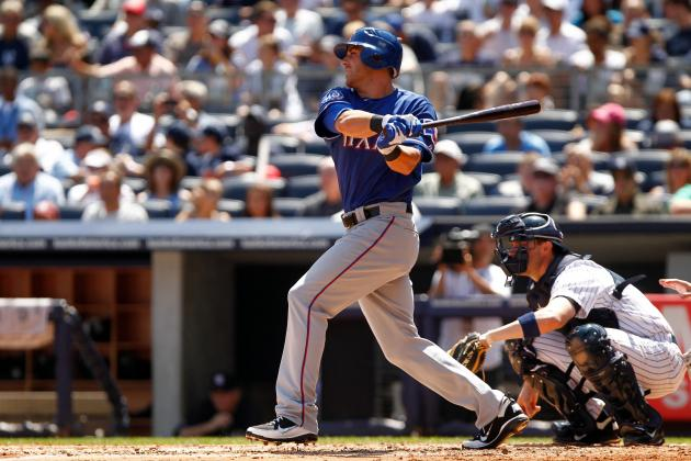 Texas Rangers Willing to Trade Top Prospect Mike Olt to Mets for R.A. Dickey