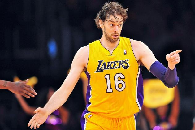 Lakers Rumors: Trading Pau Gasol to Raptors Would Be Best Strategy for LA
