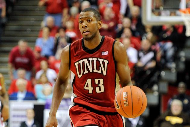 UNLV Star Mike Moser Day-to-Day with Hip Injury