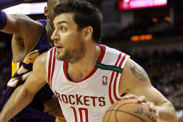 Delfino an Invaluable Asset in Reserve for Rockets