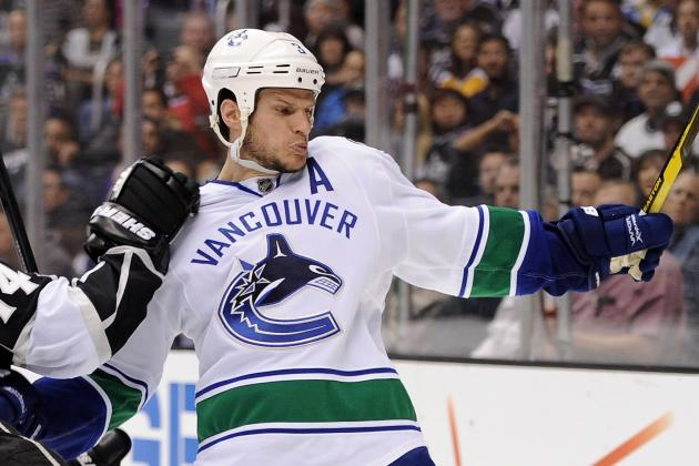 Canucks Ryan Kesler, Kevin Bieksa Taking It to the Streets