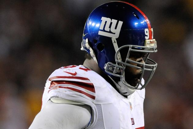 Linval Joseph Fined $7,785 for Stomp on Redskins' Montgomery