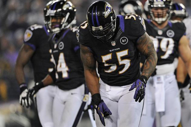 Terrell Suggs Listed as Questionable