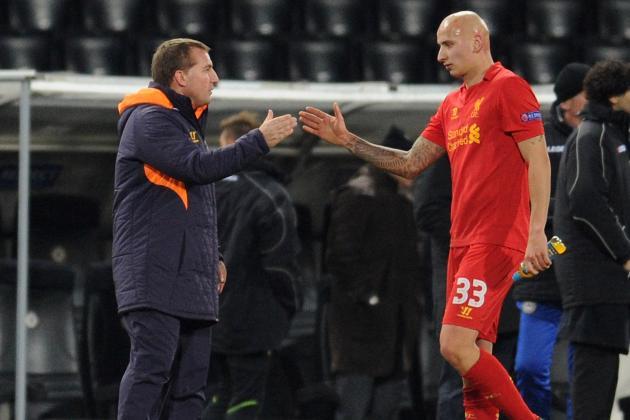 Striker-Lite Liverpool Forced to Place False Hopes in Jonjo Shelvey
