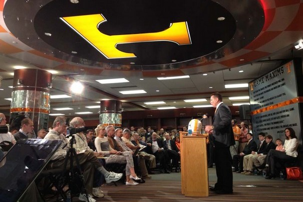 Butch Jones Introduced as New Head Coach