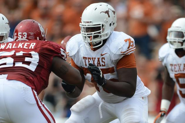 Texas O-Lineman to Miss Alamo Bowl with Stress Fracture
