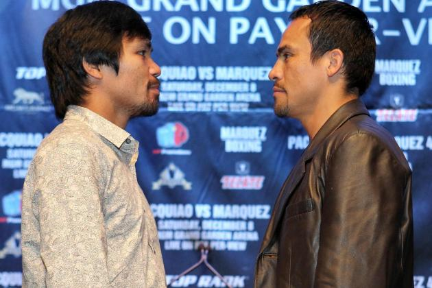 Pacquiao vs. Marquez 4: Breaking Down Pac-Man's Biggest Weaknesses