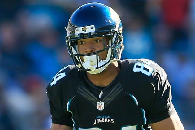 Jaguars WR Shorts Out vs. Jets for Concussion