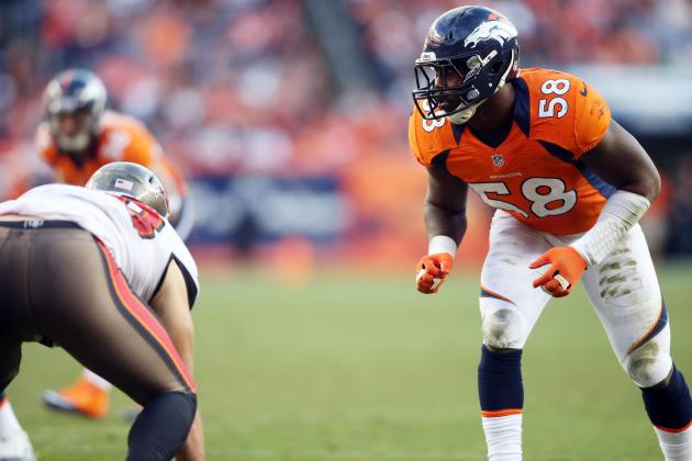 Von Miller Fined $25K for Hit on Bucs' Josh Freeman