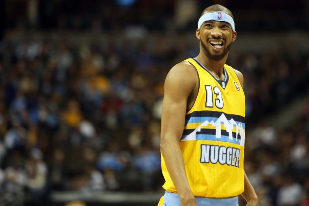 Nuggets' Corey Brewer Beyond the Corner Can Steal, Slash with Deftness