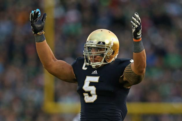 Notre Dame's Manti Te'o Has Six Down, Heisman to Go