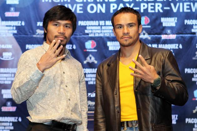 Pacquiao vs. Marquez Weigh In: Complete Results from Pre-Fight Event