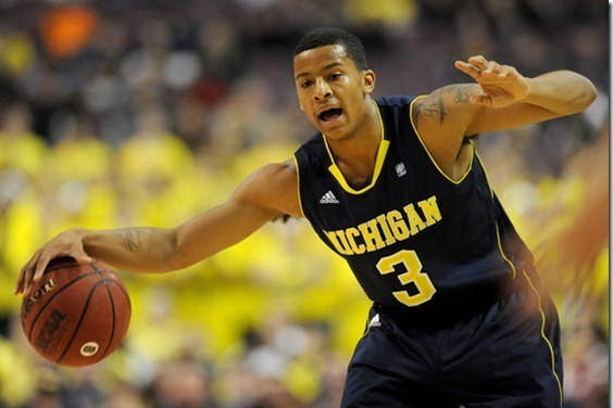 Michigan's Trey Burke on Early Pace to Break Darius Morris' Assist Record