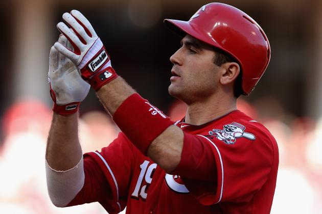 Votto Talks About His Knee, Disappointment of Way Season Ended
