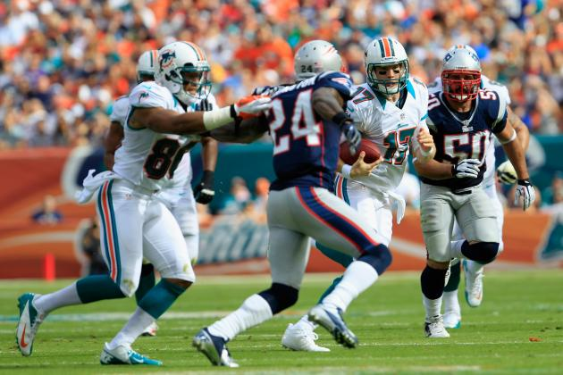 Dolphins Players Upset Patriots Ran Same Play Repeatedly
