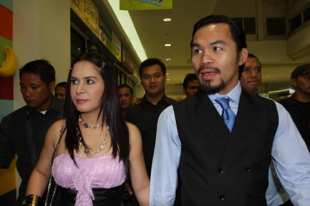 Jinkee Pacquiao: How Manny Pacquiao's Wife Has Pushed Boxer to Greatness