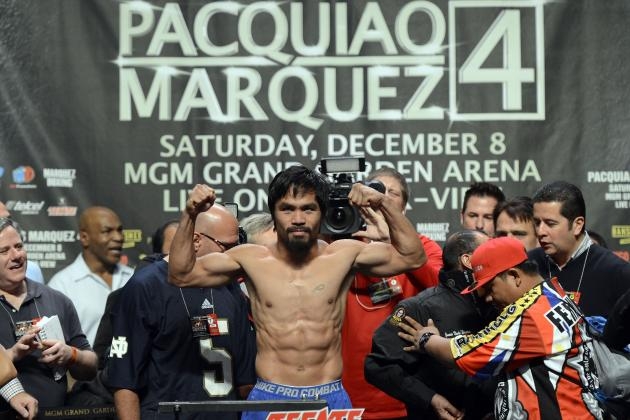 Pacquiao vs Marquez Weigh-In: Where Pac-Man and Dinamita Stand