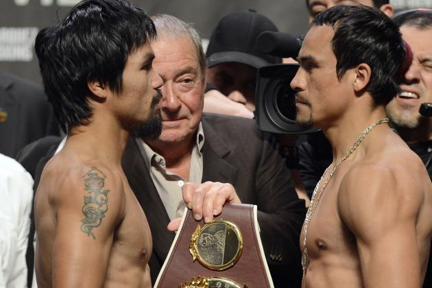 Manny Pacquiao vs. Juan Manuel Marquez 4: Weigh in Results and Reaction