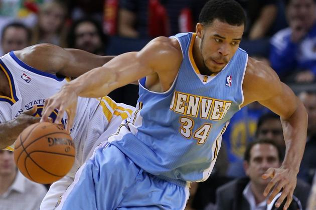 JaVale McGee Posterizes Pacers' Roy Hibbert with One-Handed Dunk
