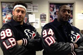 Texans Gets Team Letterman Jackets