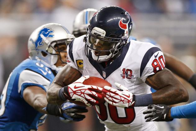 Andre Johnson: Patriots Tilt Biggest in Texans History