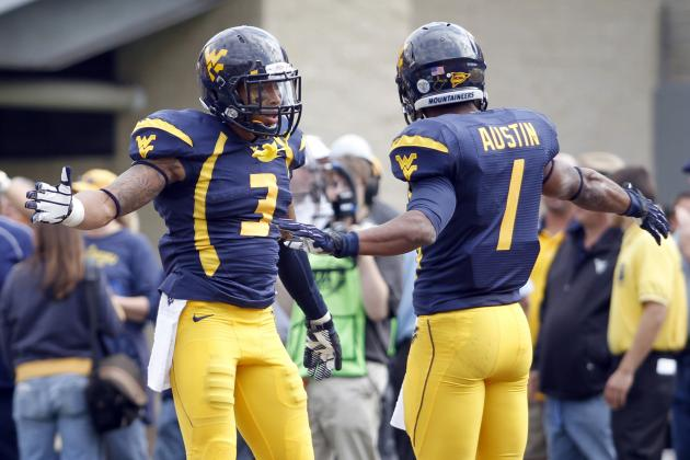 West Virginia Football: Tavon Austin, Stedman Bailey First Team All-Americans