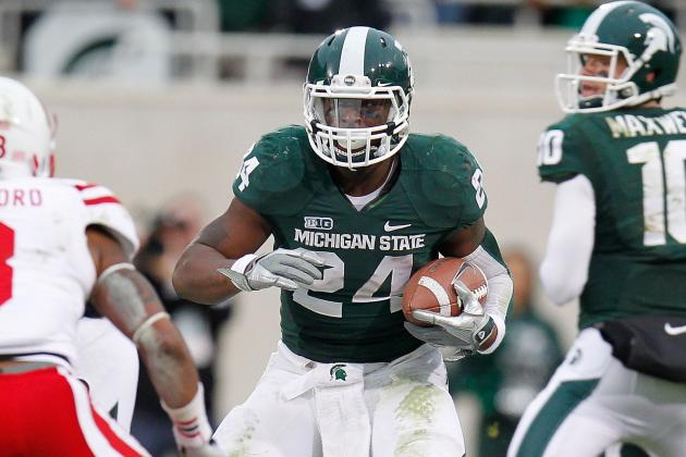 Michigan State Tailback Le'Veon Bell Finally Gets Special Award Recognition
