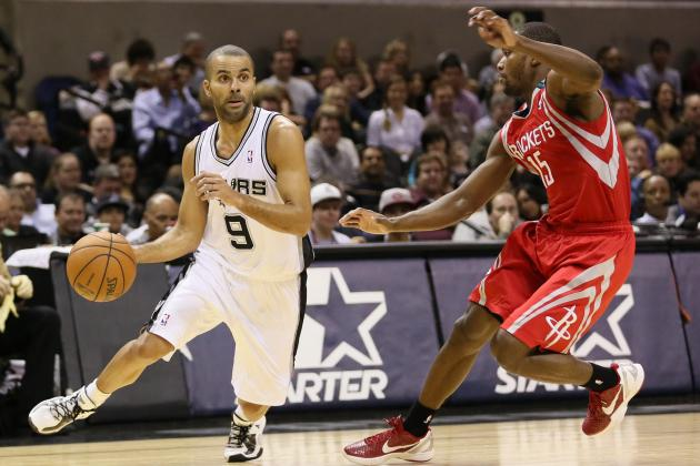 Houston Rockets vs. San Antonio Spurs: Live Score, Results and Game Highlights
