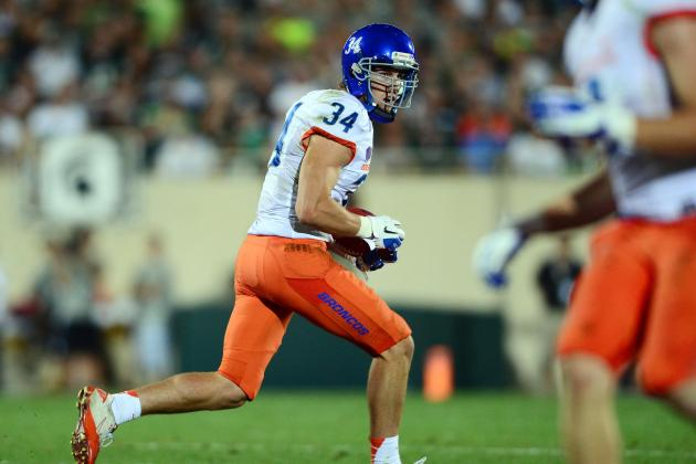 Boise State Football: Broncos vs. Huskies Comparing the Maaco Bowl's TEs and WRs
