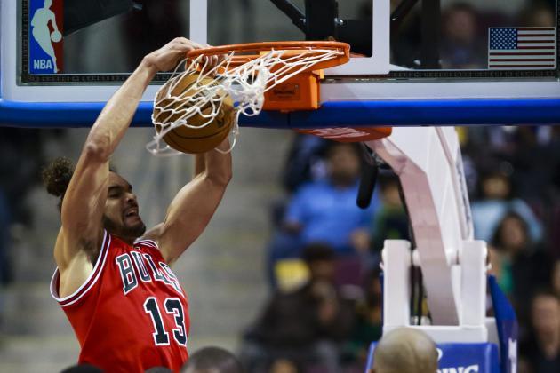 Bulls vs. Pistons: Bulls Top Pistons 108-104 Behind Joakim Noah's Career Night