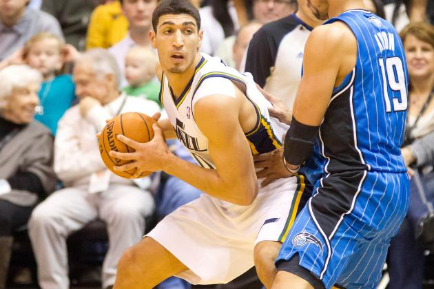 Utah Jazz: Al Jefferson 'proud' of Enes Kanter, but Doesn't Play
