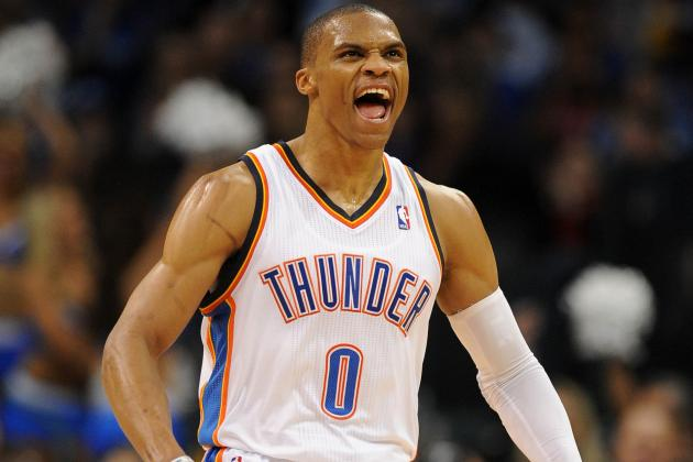 Westbrook's Stellar First Half Helps Thunder Bury the Lakers