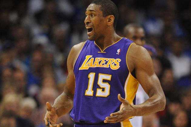 Metta World Peace Is Mum About Serge Ibaka