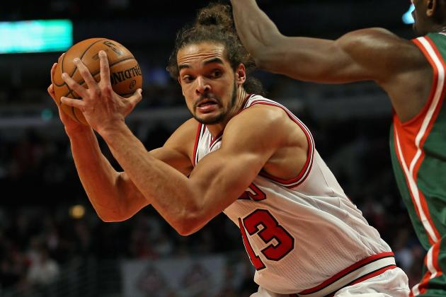 Joakim Noah's Career Year Keeping Bulls' Hope Alive Until Rose Returns