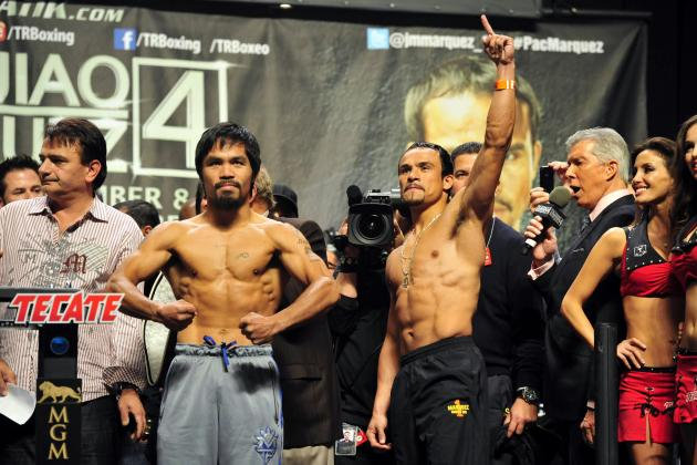 Pacquiao vs. Marquez 4: Weigh-In Spells Defeat for Manny Pacquiao