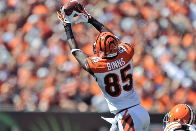 Cincinnati Bengals: Waive WR Armon Binns, Receiver Questions Remain