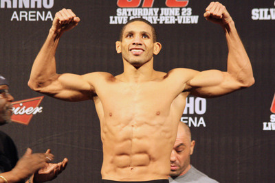 Hacran Dias out of UFC on FX 6 Bout with Chad Mendes