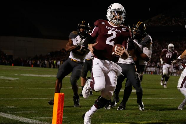 Johnny Manziel: Ranking His Season Against Past Freshman Heisman Candidates