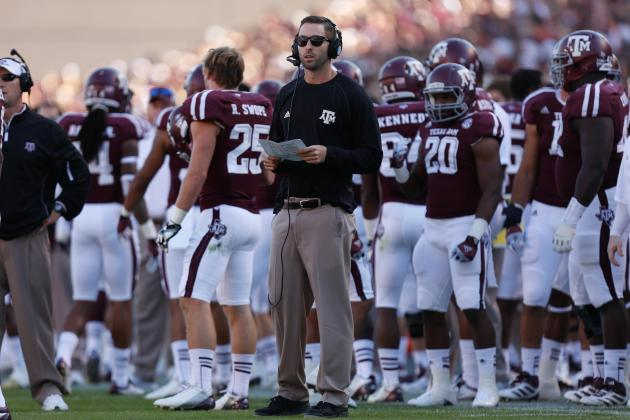 Kliff Kingsbury: Texas A&M OC Should Be Texas Tech's Prime Target for Head Coach