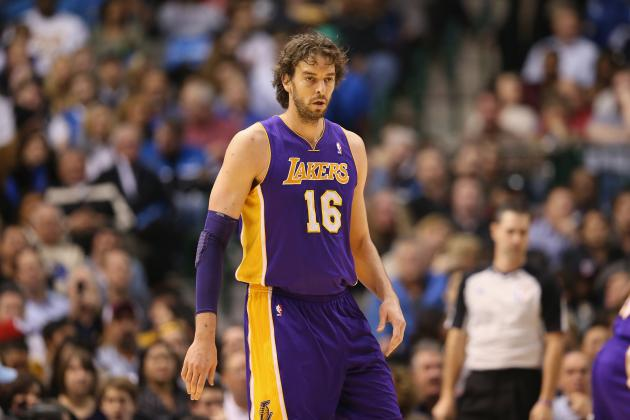 Lakers Rumors: Moving Pau Gasol to Reserve Role Would Improve Team