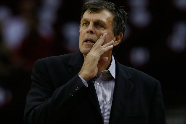 Kevin McHale Will Coach Tonight vs. Mavs