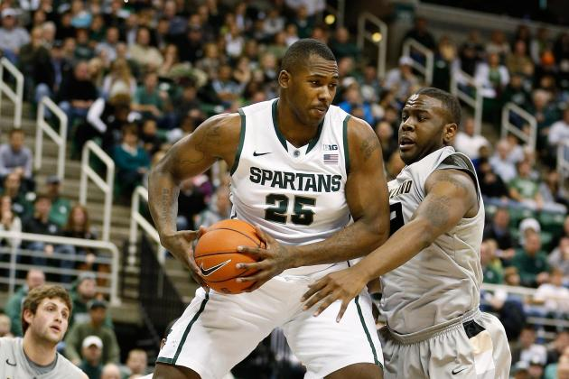 Tom Izzo Praises Derrick Nix for Poise, Passing in Post