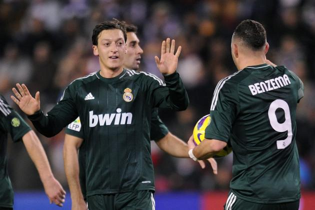 Real Madrid vs. Valladolid: Mesut Ozil Brilliance Covers Up Defensive Frailties