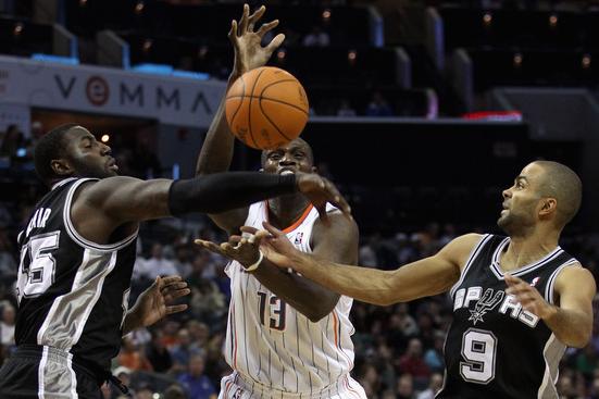 Spurs vs. Bobcats