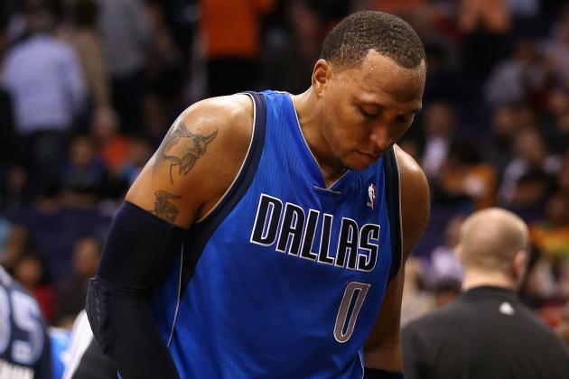 Shawn Marion Officially out Tonight vs. Rockets