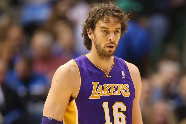 NBA Trade Rumors: Power Ranking Lakers Options for Trading Pau Gasol
