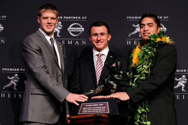Heisman Finalists 2012: Assessing NFL Potential for Each Top Player